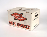 20 Pound Sweet Potato 2 pc. Off Grade Box
