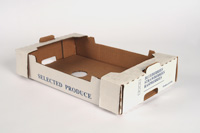 6 Pint/12 Half-Pint Box (Self-locking/Handfold)
